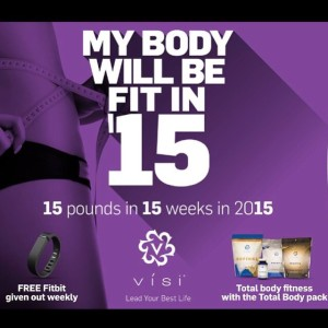 Fit In '15 - Lose 15 pounds in 15 weeks!!
